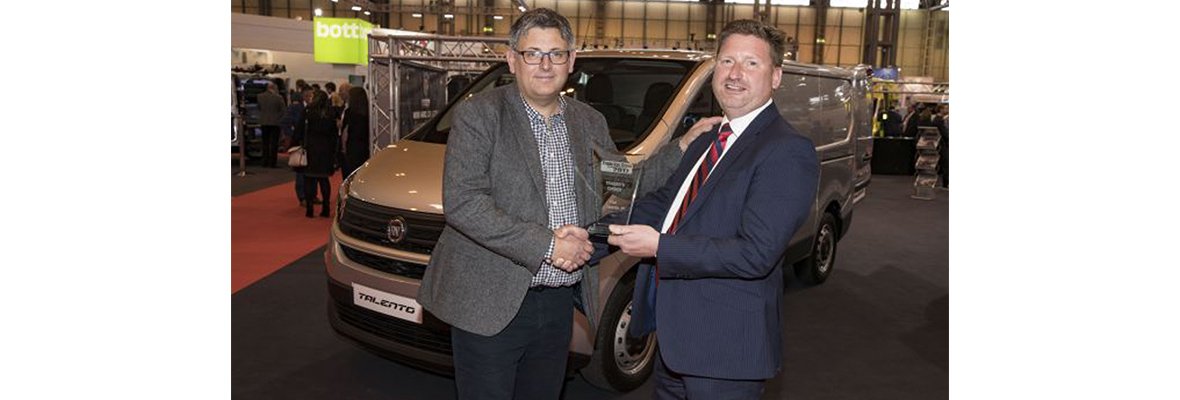 Two Fiat Professional vehicles have been honoured in the 2017 Trade Van Driver Awards.