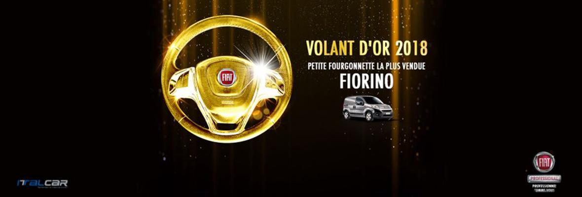 """New Fiorino Wins the """"Volant d'or"""" Award in Tunisia"""