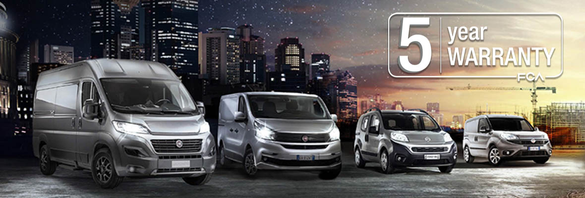 5 Year Warranty on Commercial Vehicles